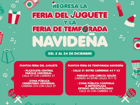 Con ferias navideñas, Barranquilla sigue apostando por la reactivación económica
