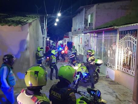 Fin de semana con caravanas de seguridad en Barranquilla