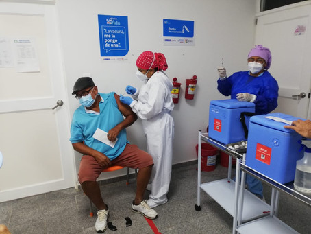 Atlántico registra un 72% de avance en el Plan de Vacunación