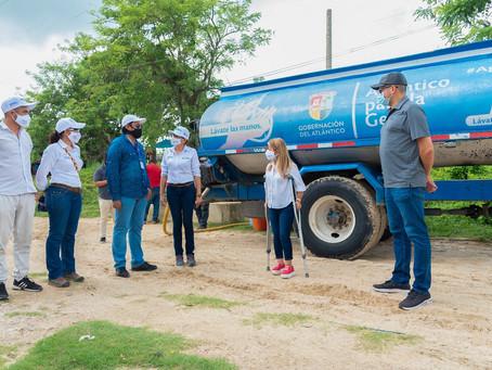 Más de 12 mil atlanticenses se han beneficiado con la 'Ruta del Agua'