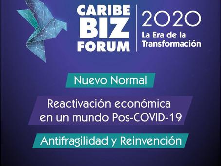 Este miércoles inicia Caribe Biz Forum 2020, 'La Era de la Transformación'