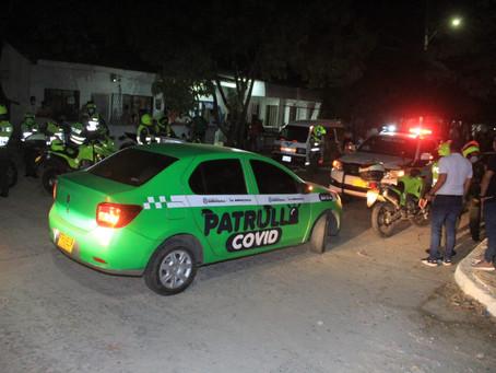 Más de 100 fiestas intervenidas durante fin de semana con toque de queda en Barranquilla