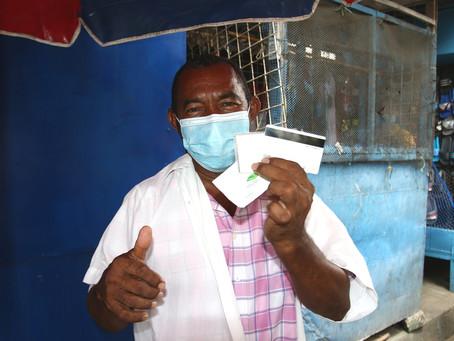 Más de 4.000 comerciantes del Centro de Barranquilla recibieron ayudas humanitarias