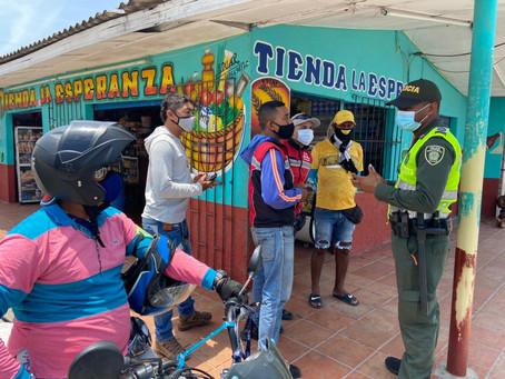 Toque de queda continuo en Atlántico y Barranquilla durante el próximo fin de semana