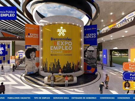 ExpoEmpleo Virtual SENA tendrá 20 mil oportunidades laborales