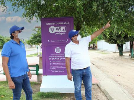 Atlántico avanza en llevar conectividad a los municipios