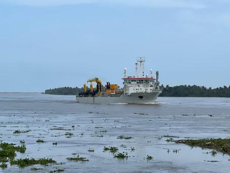Por daño en la draga Taccola continúan suspendidos trabajos en el Puerto de Barranquilla