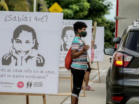 Barranquilla le dice NO al trabajo infantil en los semáforos de la ciudad