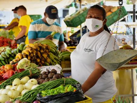 Iniciativa 'Mercado a tu Barrio' regresa para apoyar a vendedores del centro de Barranquilla