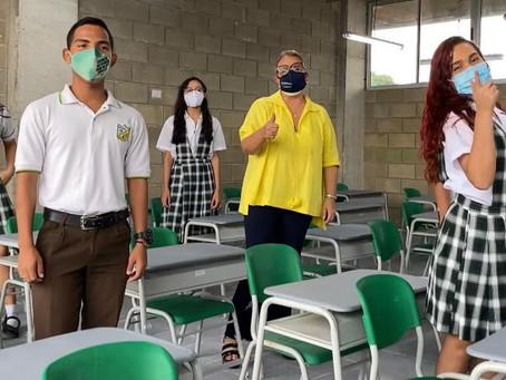"""""""No hay obligatoriedad para la alternancia"""": Bibiana Rincón, sobre regreso a clases en Barranquilla"""