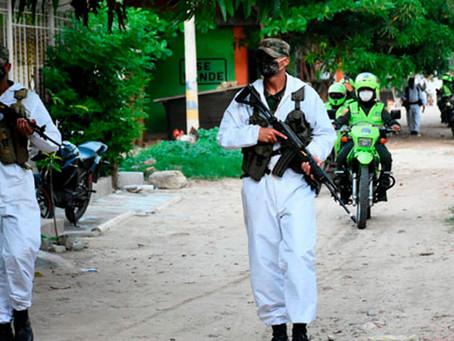 Policía y Ejército patrullarán municipios del Atlántico durante fines de semana con toque de queda