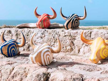 Artesanos presentan piezas inspiradas en las danzas y disfraces del Atlántico