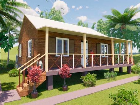 Así serán las nuevas casas en la reconstrucción de Providencia y Santa Catalina