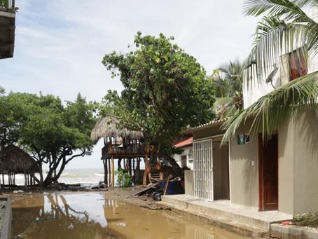 En municipios del Atlántico, autoridades evalúan afectaciones tras el paso de IOTA