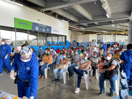 Más de 32 mil vacunas fueron aplicadas durante el fin de semana en Barranquilla