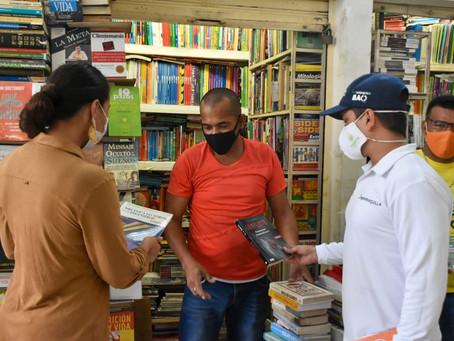Vendedores del Centro de Barranquilla recibirán apoyo para reactivación de sus negocios