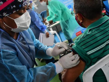 Más de 9.200 docentes priorizados para recibir vacuna en el Atlántico