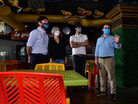 Con ilusión y optimismo inició plan piloto del sector gastronómico en Barranquilla
