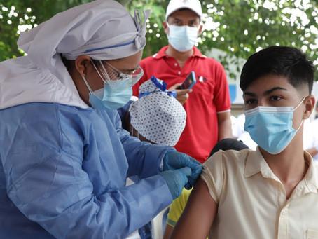 Desde este sábado menores de 12 a 14 años podrán vacunarse contra el Covid-19