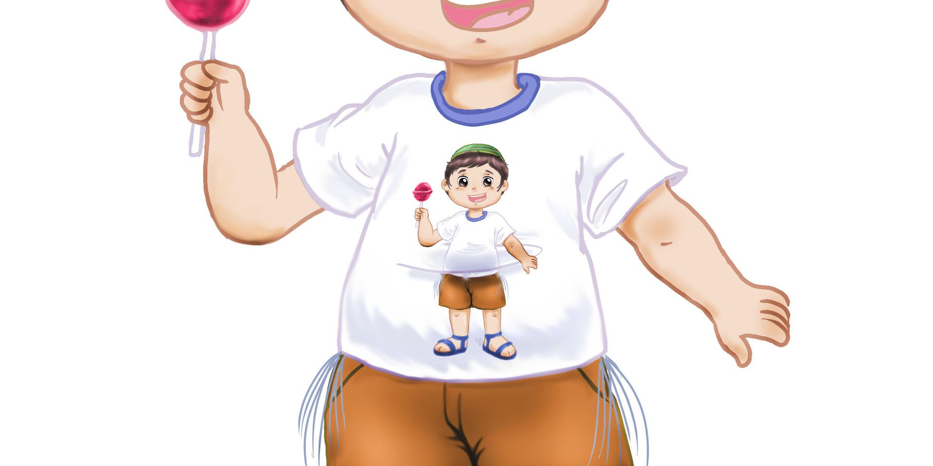 ילד מתוק עם סוכריה 1.jpg