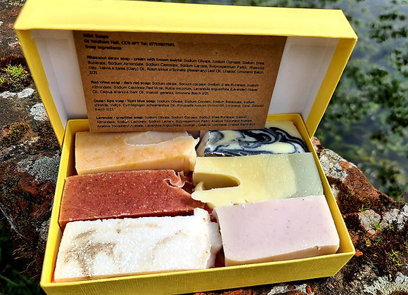 Box Set of 6 Soaps