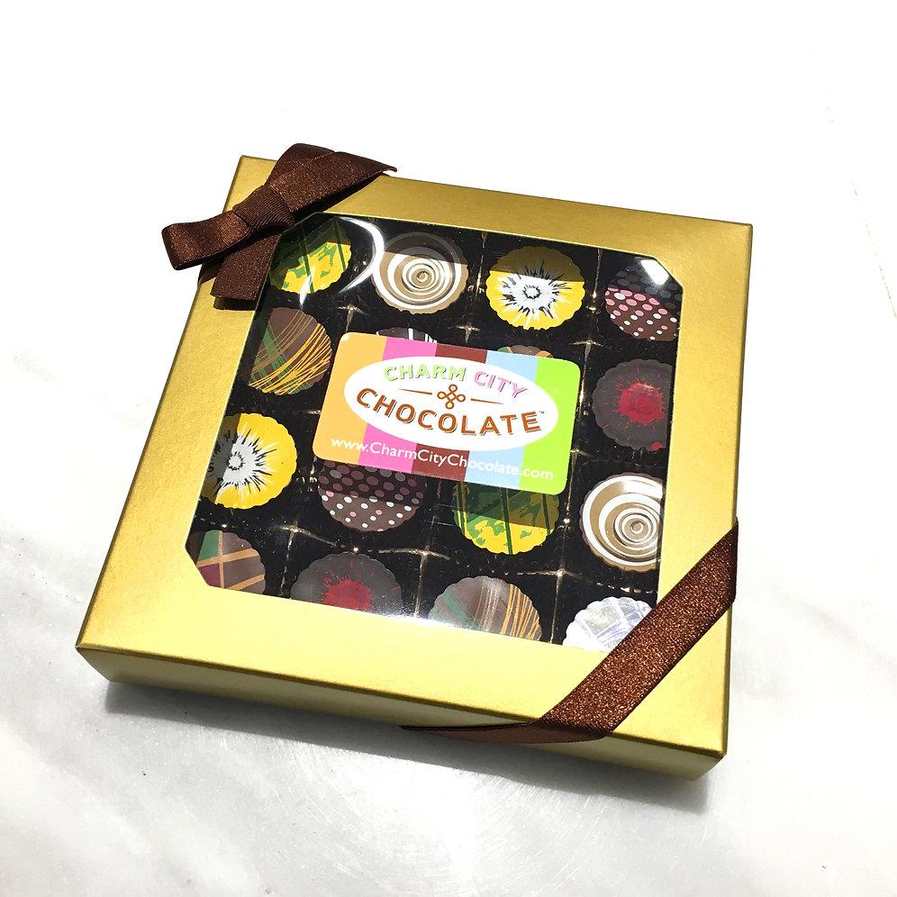 Classic Decorated Truffle Gift Box