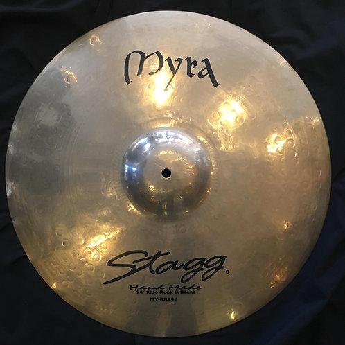 "Stagg Myra Series Hand Made 20"" Ride"