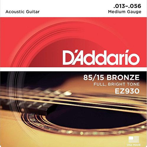 D'Addario EZ930 Acoustic Guitar Strings