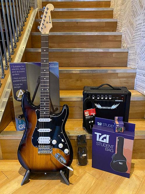 Electric Guitar Strat Pack 2 - Chord CAL64 SB