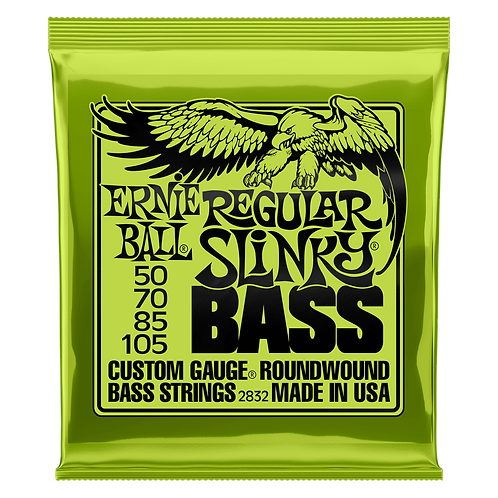 Ernie Ball Regular Slinky Bass Guitar Strings