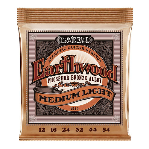 Ernie Ball Earthwood 2146 Medium  Light Acoustic Guitar Strings