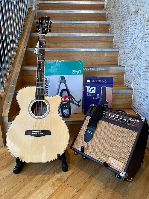 Acoustic Guitar Pack 3 - Brunswick/Carlsbro NAT