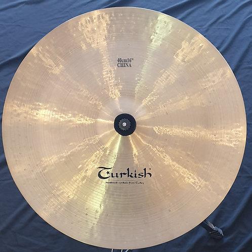 """Turkish Rockbeat 16"""" China"""