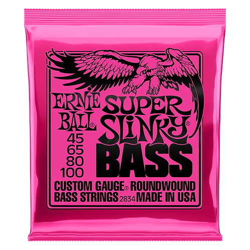 Ernie Ball Super Slinky Bass Guitar Strings