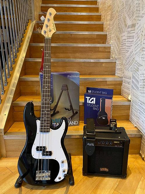 Precision Bass Guitar Pack 1 - Aria P-Bass BK