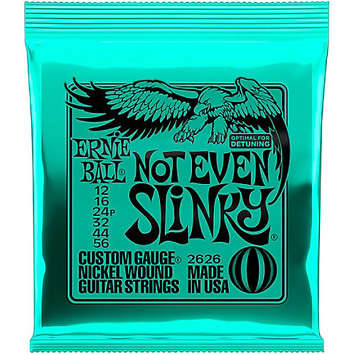 Ernie Ball Not Even Slinky Slinky Electric Guitar Strings