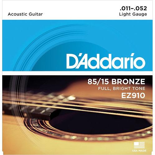 D'Addario EZ910 Acoustic Guitar Strings