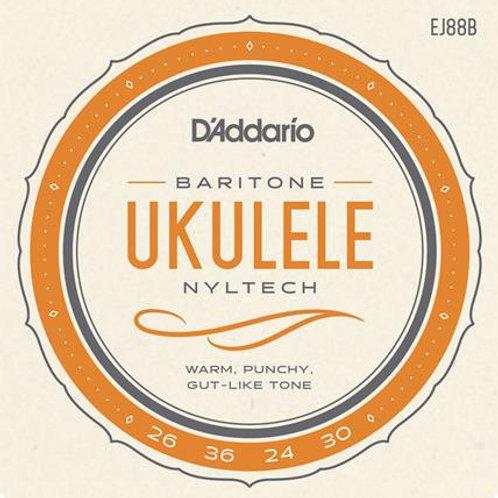D'Addario EJ88B Nyltech Baritone Ukulele