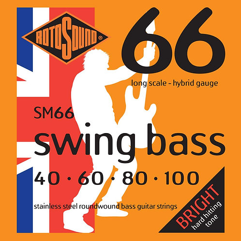Rotosound SM66 Swing Bass Hybrid Bass Guitar Strings