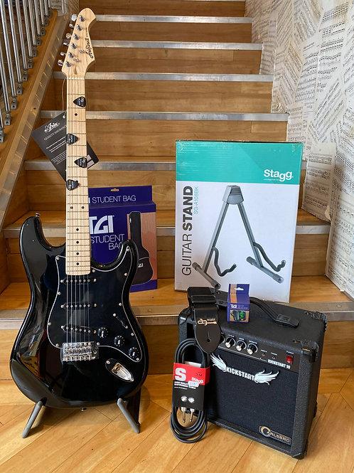 Electric Guitar Pack 2 - Aria BK