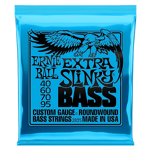 Ernie Ball Extra Slinky Bass Guitar Strings