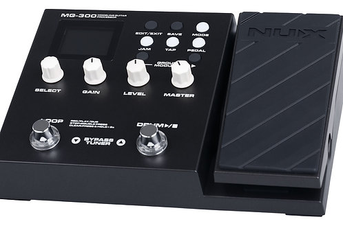 Nux MG-300 Guitar Multi FX Pedal
