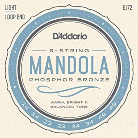 D'Addario EJ72 Mandola