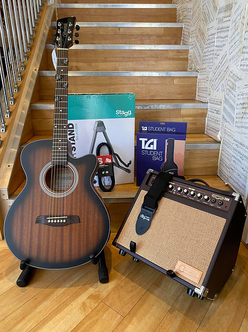 Acoustic Guitar Pack 3 - Brunswick/Carlsbro TB