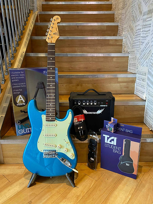 Electric Guitar Strat Pack  - SX LPB