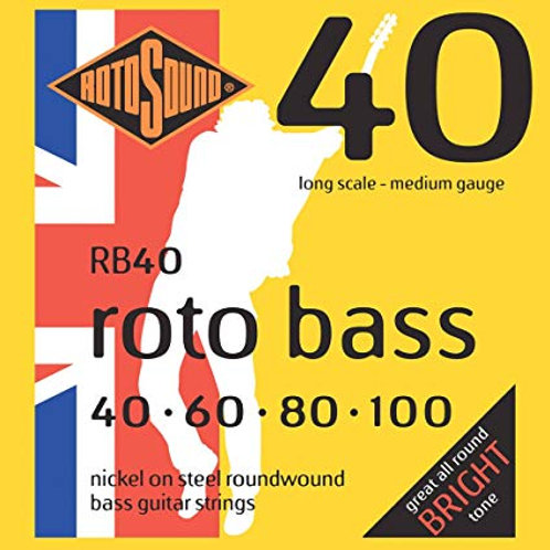 Rotosound RB40 Medium Bass Guitar Strings
