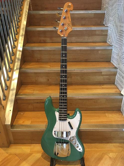 SX VTG Series Jazz Bass VG
