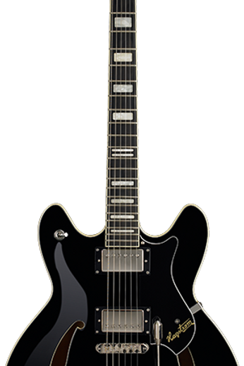 Hagstrom Tremar Viking Deluxe - Black
