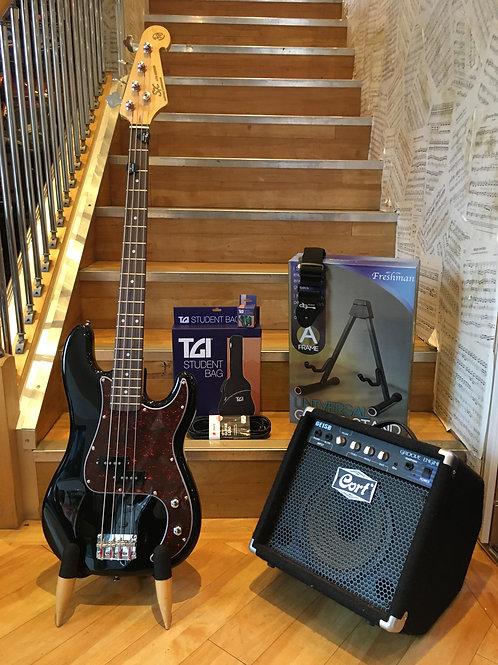 Bass Guitar Pack 2 - SX BK