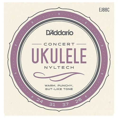 D'Addario EJ88C Nyltech Concert Ukulele